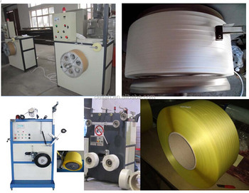 PP pack straps machine production line PP strapping belt line