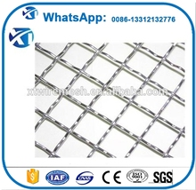 20 gauge stainless steel crimped wire mesh with factory price