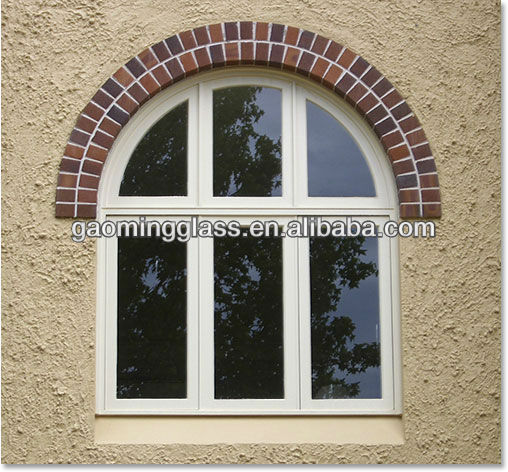 doors and windows with white inserts and low-e insulated glass