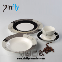 High quality ceramic tableware set dinner sets for household