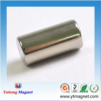 Strong Sintered Rare Earth diametrically magnetized cylinder neodymium magnet Made in China