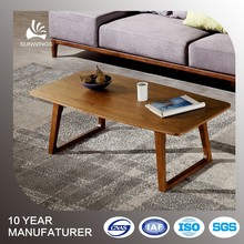 Drawing room wood coffee table modern designs
