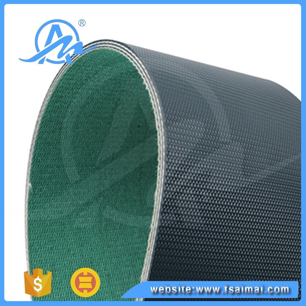 Customized heat resistant pvc polishing Conveyor Belt for Joint Machine