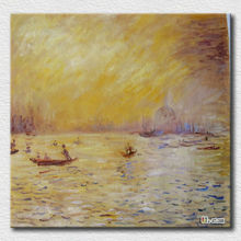 Canvas landscape scenery famous art paintings by Auguste Renoir for living room wall