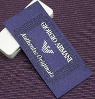 Profession Fancy Custom Brand Name Woven Labels for Clothing