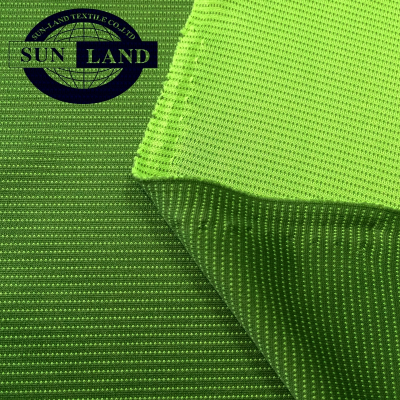 100% polyester double interlock knitting fabric for garment lining