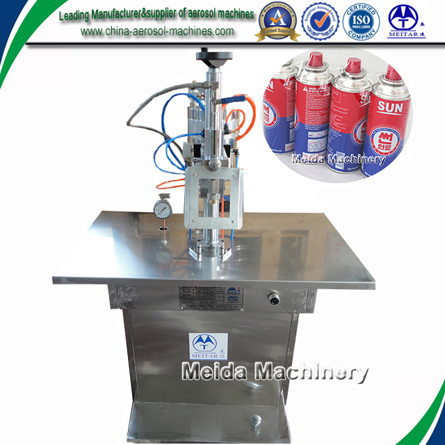 Aerosol gas filling machine plant for LPG