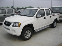 4WD diesel pick up with double cabin and ISUZU engine