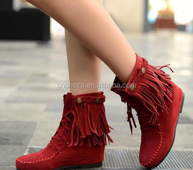 Z53279B Charming beautiful women winter cheap snow boots
