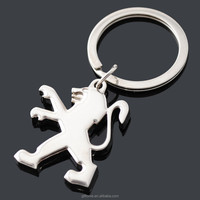 car logo peugeot keychain/ key chain