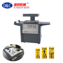 Hot sell semi-automatic hardware tools vacuum skin packing machine