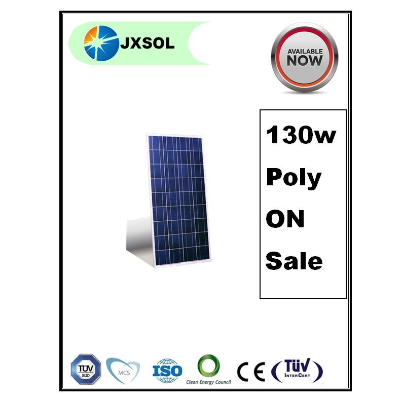 130w poly cheap qoute production line broken cells solar panel used price