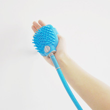 New Multi-Functional Dog Shower Sprayer Pet Grooming Brush Combination Sprayer and Scrubber, Indoor/Outdoor Use Pet Bathing Tool