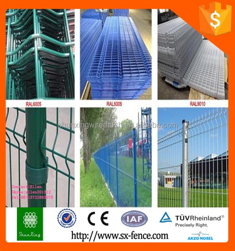 Trade Assurance Alibaba China ISO9001 Powder coated welded dog garden fence