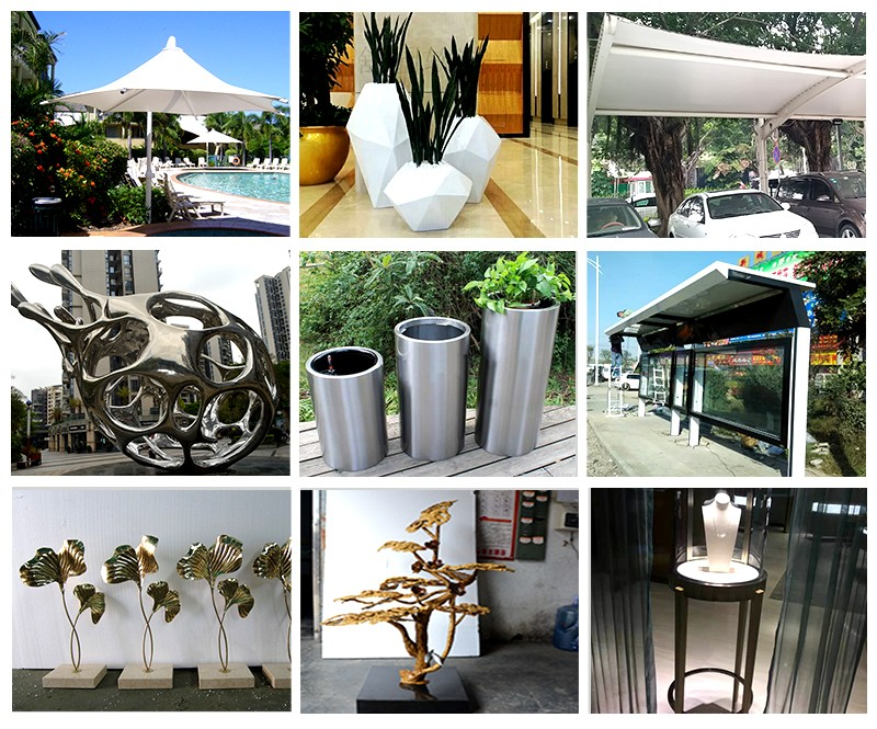 hot sale & high quality stainless steel abstract sculpture