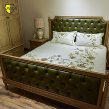 High Quality Wholesale hand carved wood beds