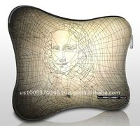 Zipper Soft Neoprene Case_mona lisa for IPad / tablet PC