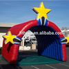 Super star inflatable football tunnel for sale