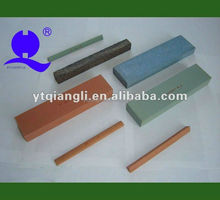 Green silicon carbide sharpening honing stones