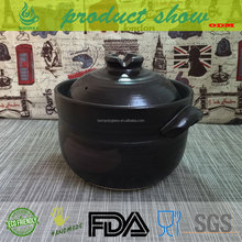 2017 new design cookware set popular pottery/ceramic rice cooking pot
