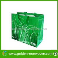 Hot sale thermal transfer printing nonwoven bag for shopping