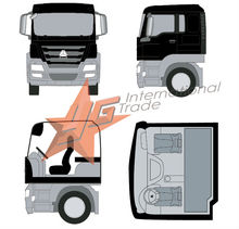 howo for 6X4 bucket truck