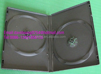 dvd case 14mm Black with smooth Film