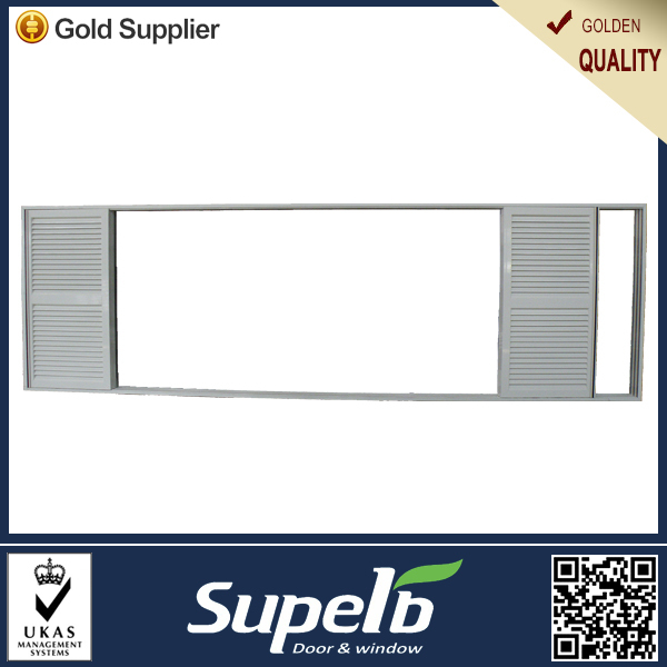 House door air ventilate white aluminum louvre interior door