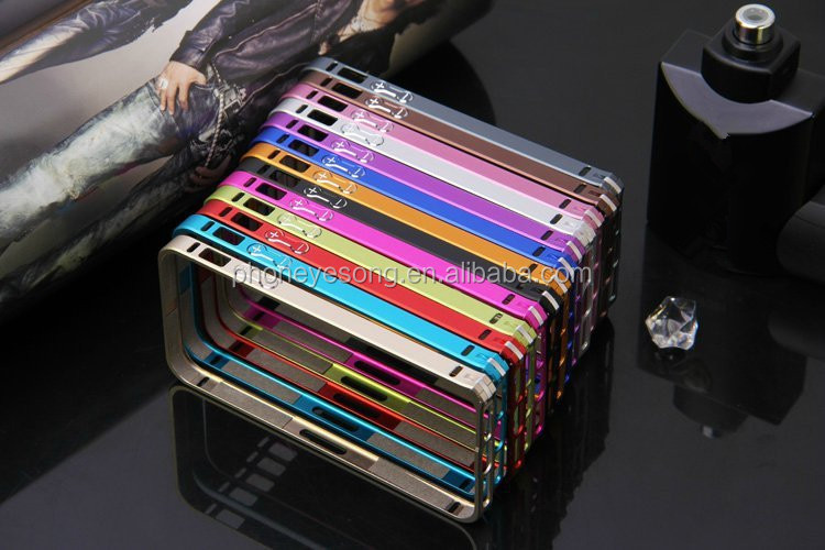 Wholesale Metal bumper for iphone5s,for iphone 5s 0.7 mm thin bumper case