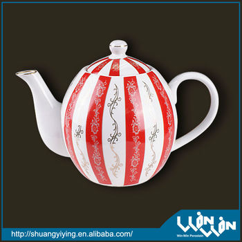 ceramic tea pot Ball shape!