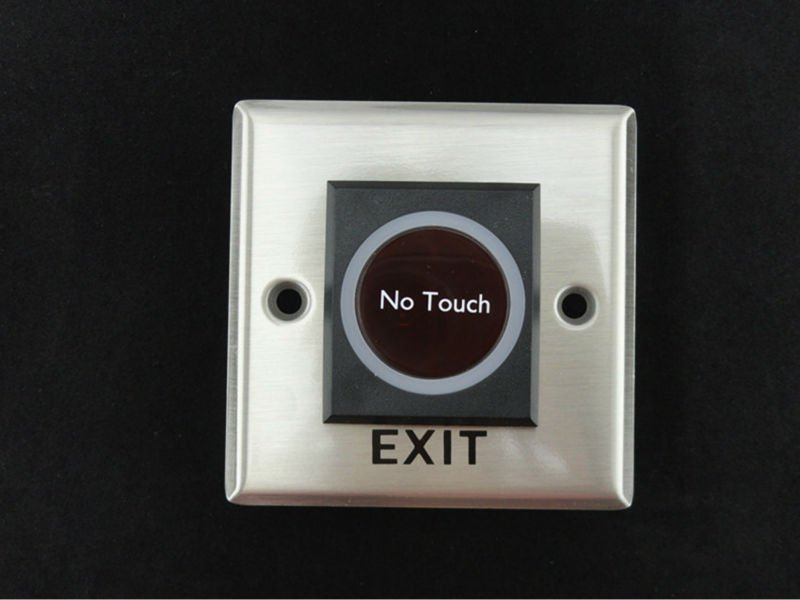 Infrared Sensor Exit Button(Stainless steel) for door access controller