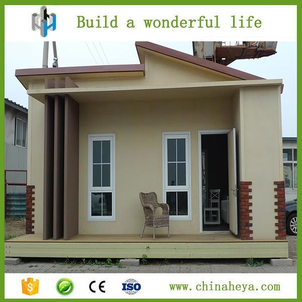 China produced good-looking long lifespan prefab modern houses