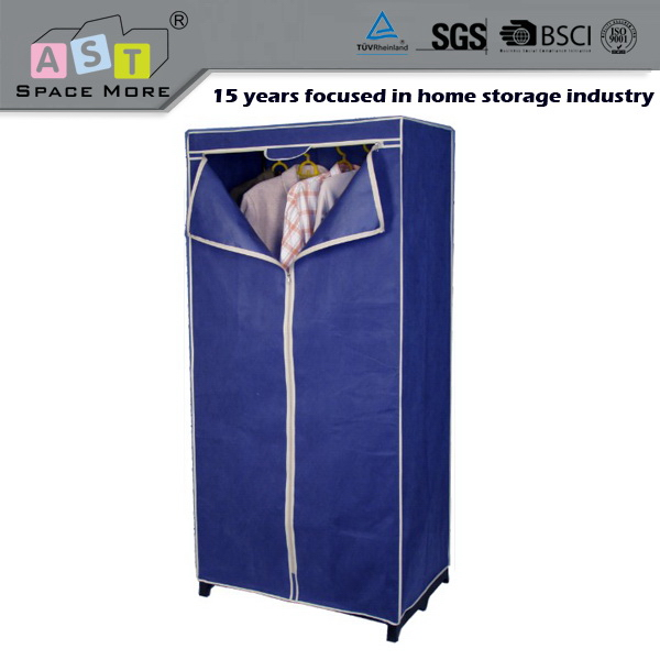 High standard new arrival new fashion waterproof fabric wardrobe