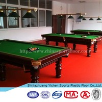 pvc ping pong table tennis plastic sports flooring carpet in rolls