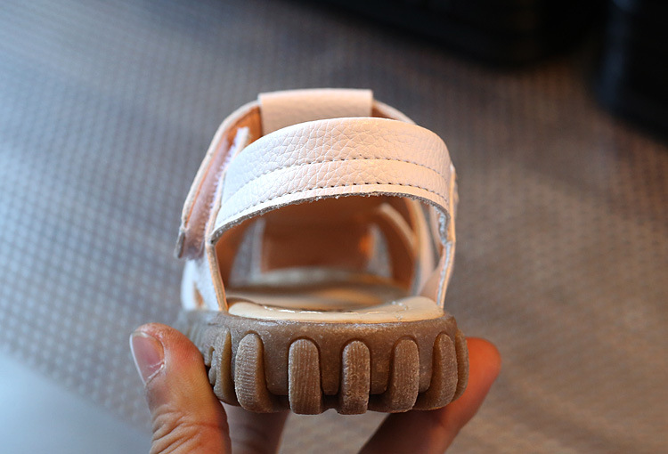 Summer new style PU children 1-6 years sandals baby beach shoes wholesale