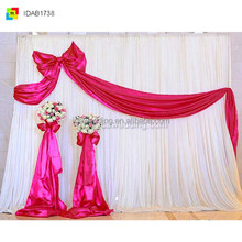 2013 popular great led curtain light 3m wedding backdrop curtain black