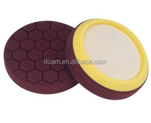 6inch Hex-logic Buffing Pad Car Foam Polishing Pad
