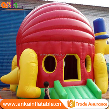 Custom full printing children bounce house inflatable bouncer castle for kids