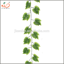 wholesale decorative artificial fake green grape vine