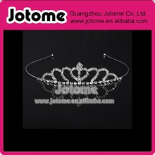 Hair Accessories Bridal Tiara Wedding Crown Rhinestone Bridal Tiara with Hair Comb