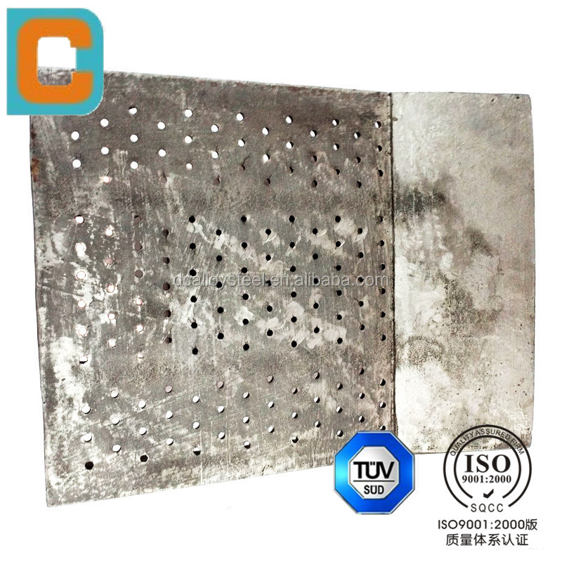 manufacturer supply OEM alloy steel sand casting comb board grate cooler for Mechanical,Chemical,Petroleum,Metallurgy Applicatio