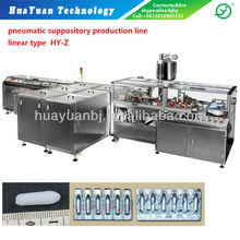 suppository production line/tube filling equipment/liquid filling equipment