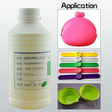 heat cured silicone vulcanizing agent heat transfer adhesive glue
