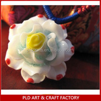 High Quality and Hot Sales Pretty Miniature Ceramic Flowers