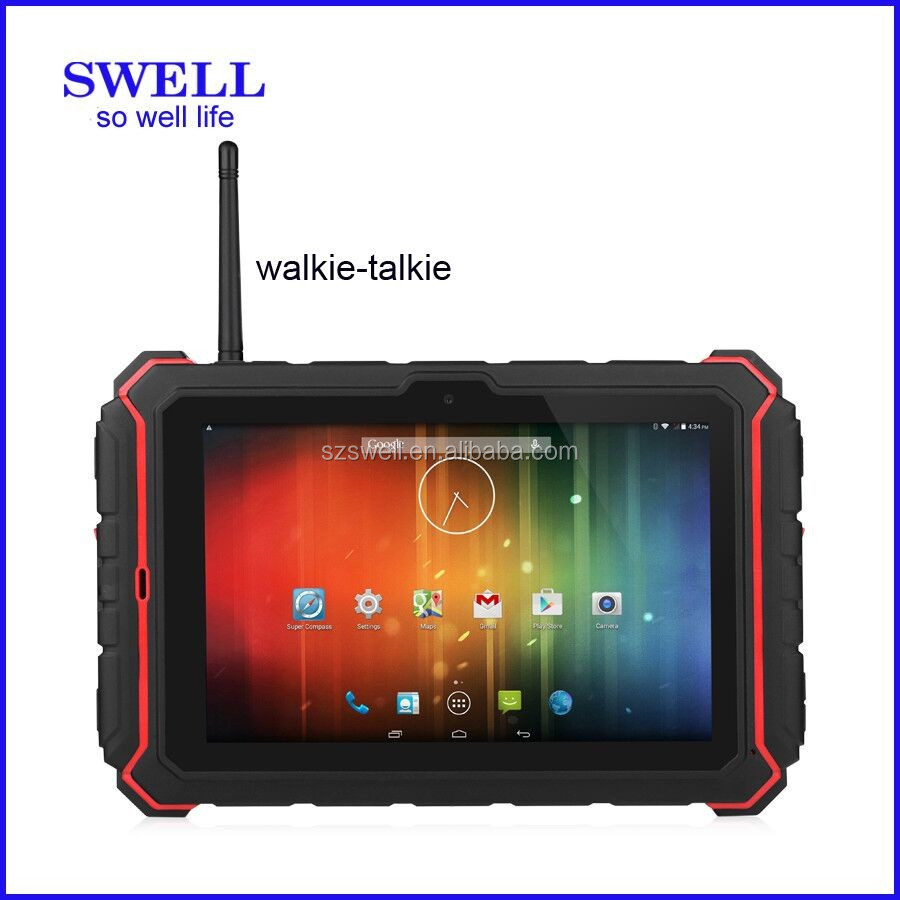tablet pc software download 8inch rugged pad fingerprint reader walkie talkie android OS T82