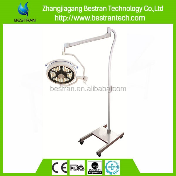 BT-LED500BS CE ISO high quality hospital mobile mobile emergency surgical lamp