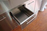 Stainless steel outdoor kitchen component door cabinet Stainless built in door