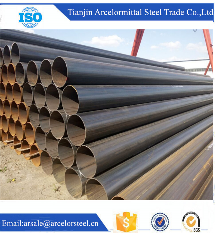 Trade Assurance 4 Inch Sch40 ERW MS Carbon Round Steel Tube/4Tube with Anti-Rusted Oil Shopping Websites