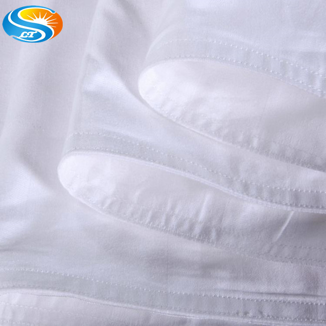 100% cotton 250//300/400/1000 thread count sateen/sateen strip bed sheets