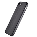 DFIFAN Black matte Case for apple iphone 7 /8 tpu, Aramid Fiber design case cover for iphone 7 /8 case tpu